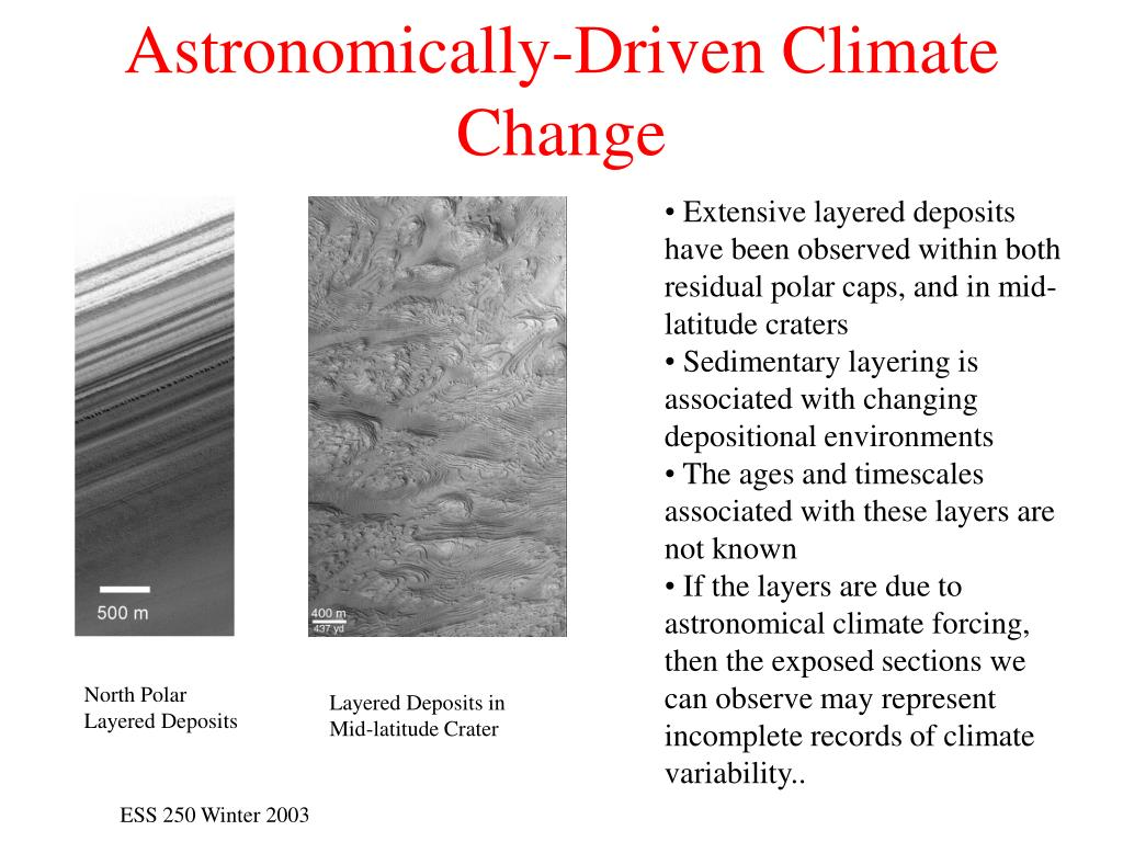 Astronomically-Driven Climate Change