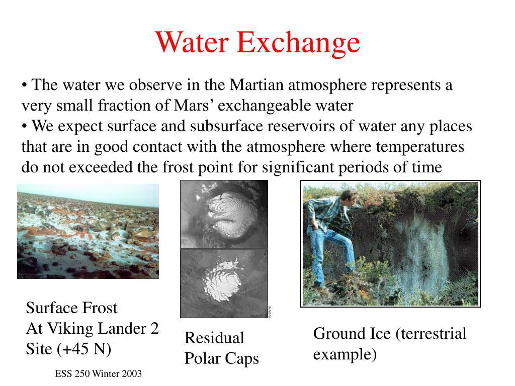 Water Exchange