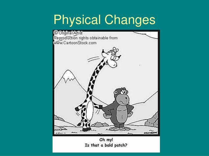 Physical changes3