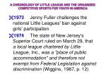 a chronology of little league and the organized competitive sports for youth in america18