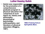 luther haseley gulick