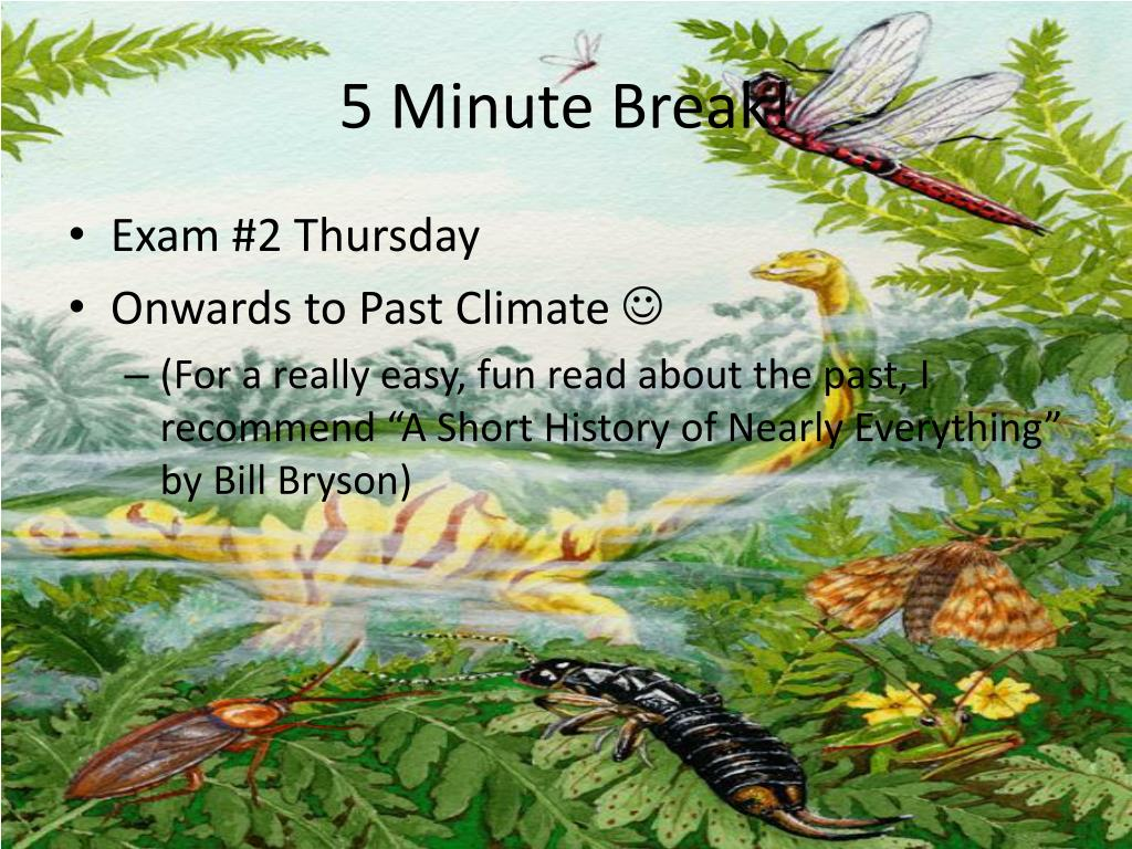 5 Minute Break!