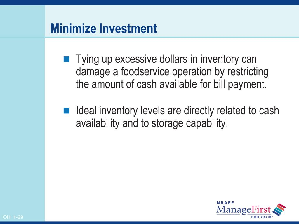 Minimize Investment