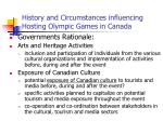 history and circumstances influencing hosting olympic games in canada9