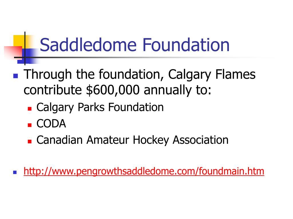 Saddledome Foundation