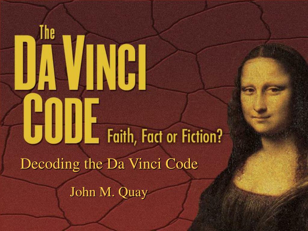 decoding the da vinci code l.