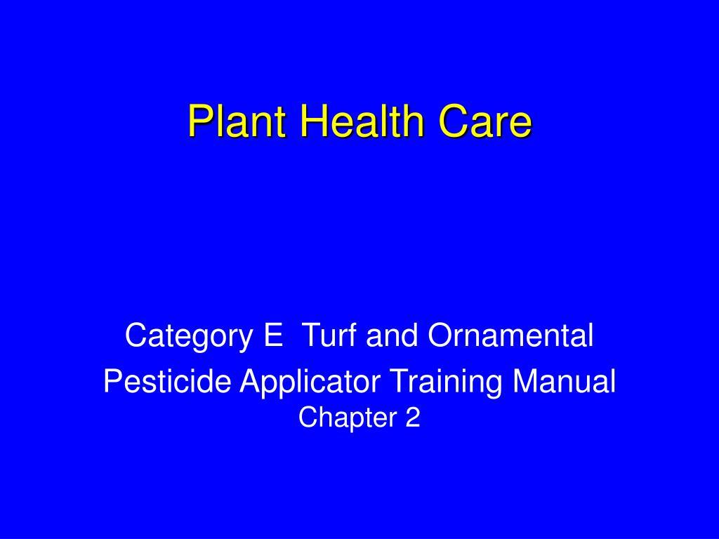 plant health care l.