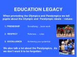 education legacy