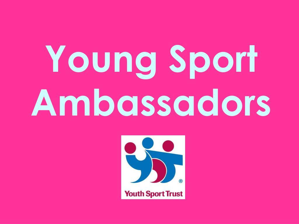 Young Sport Ambassadors