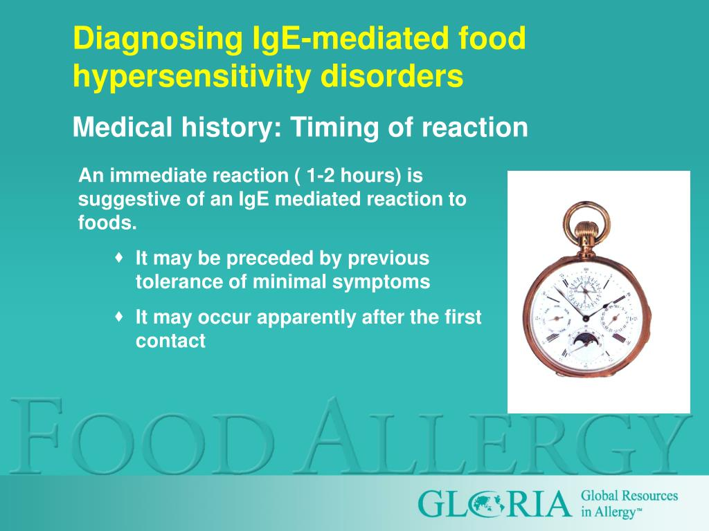 Diagnosing IgE-mediated food hypersensitivity disorders