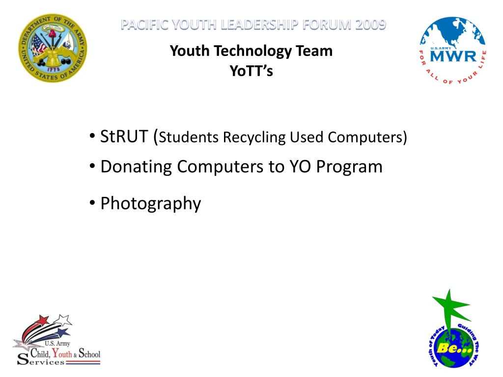 Youth Technology Team