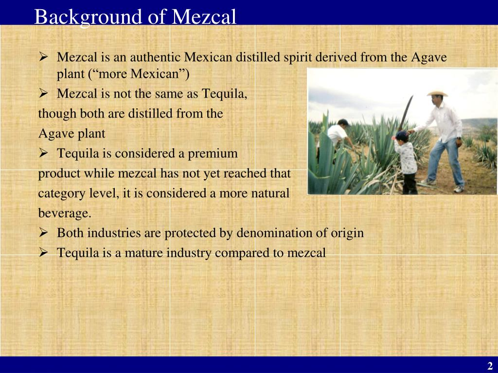 Background of Mezcal