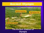 ancient olympic