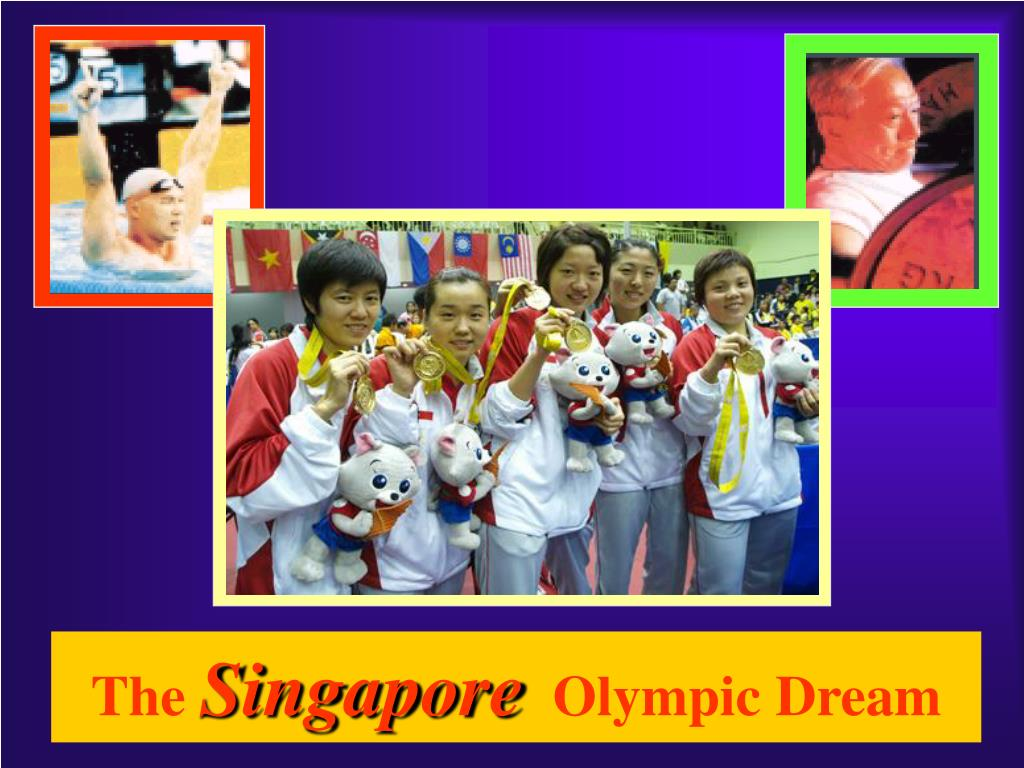 the singapore olympic dream l.