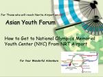 asian youth forum