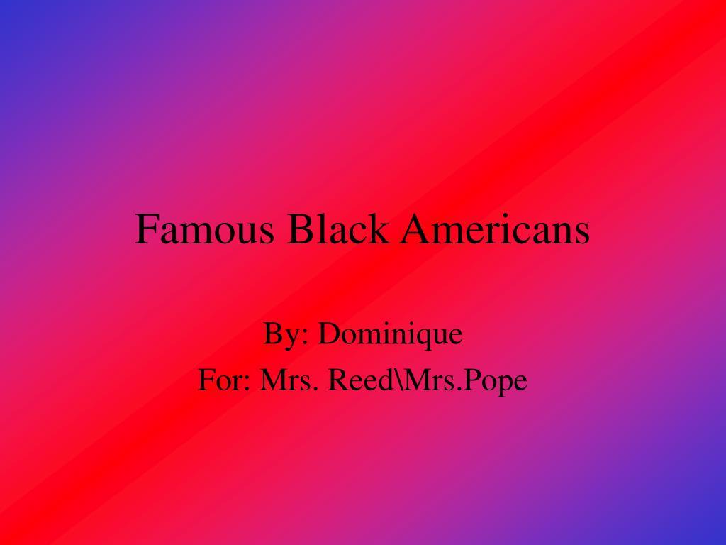 famous black americans l.