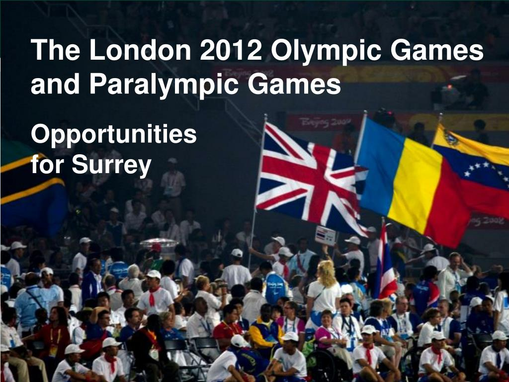the london 2012 olympic games and paralympic games