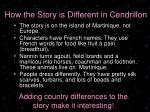 how the story is different in cendrillon