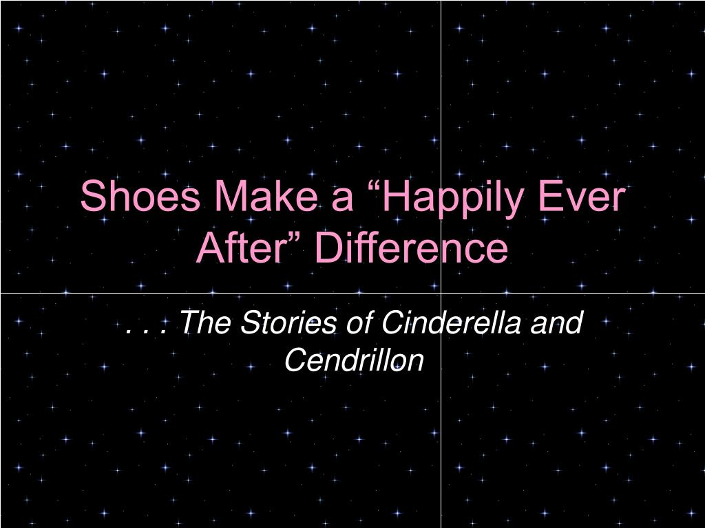 shoes make a happily ever after difference
