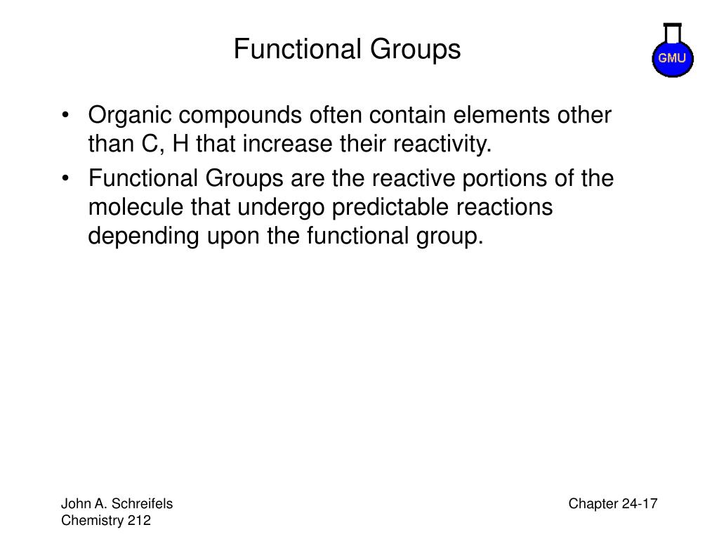 Functional Groups
