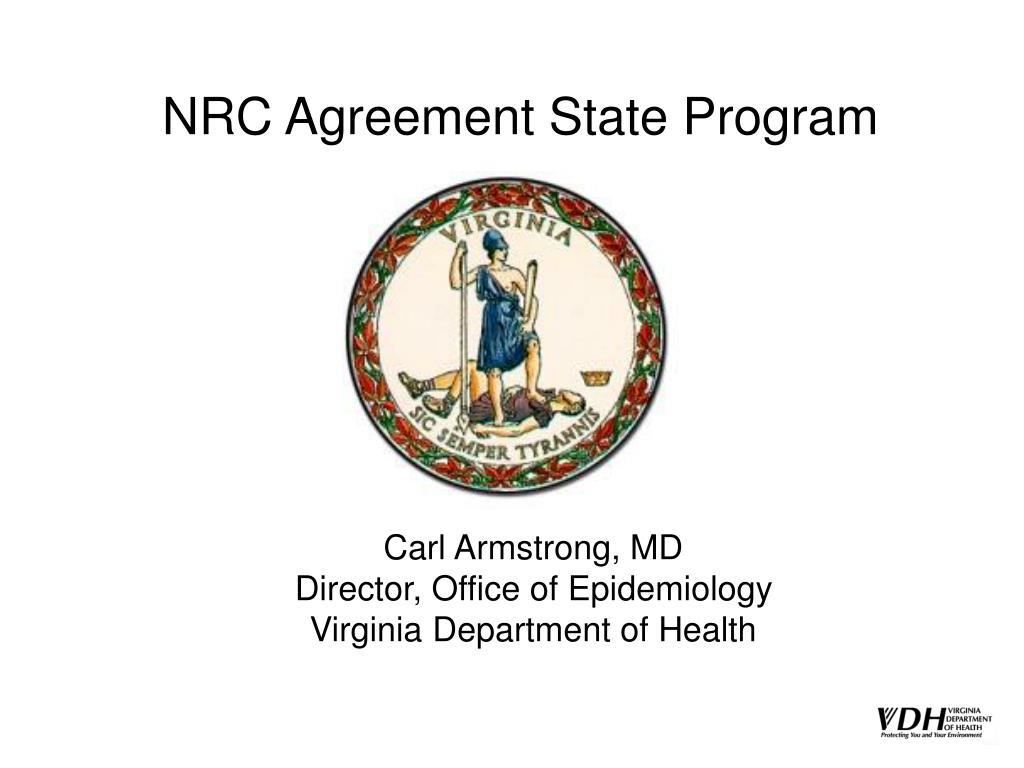 nrc agreement state program l.