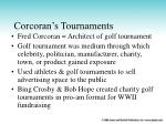 corcoran s tournaments