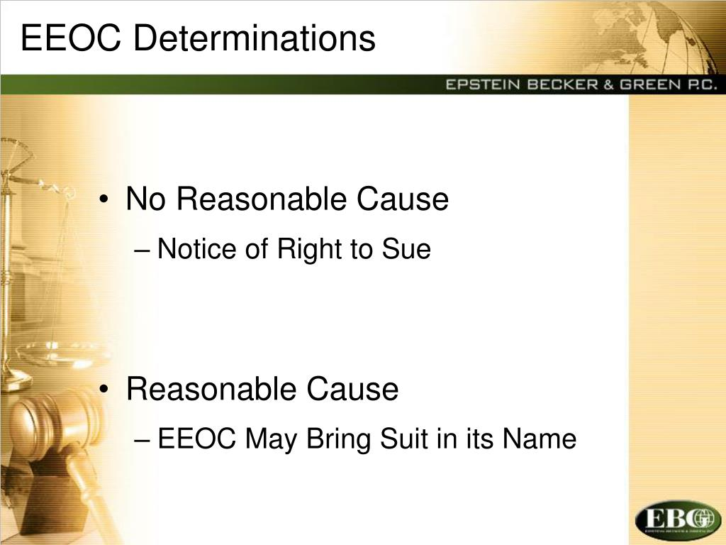 EEOC Determinations