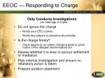 eeoc responding to charge