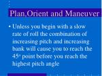 plan orient and maneuver13