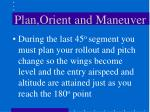 plan orient and maneuver24