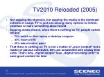 tv2010 reloaded 2005