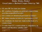 tricky tricky tricky great lakes v herbert cooper note 6 p 740