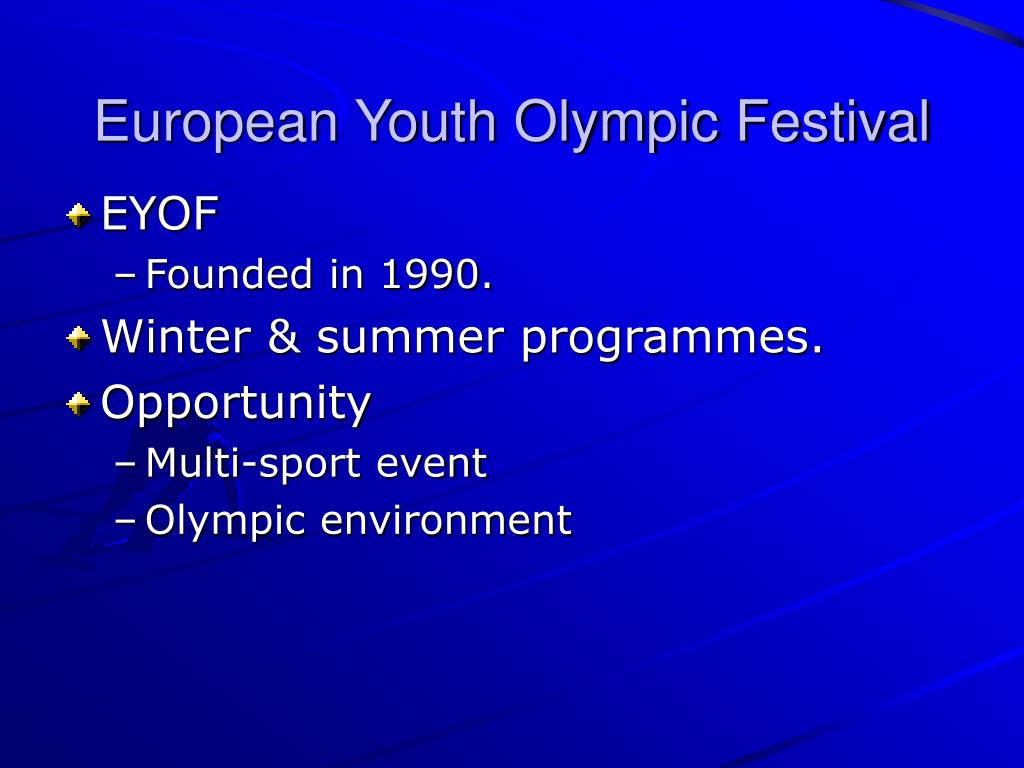 European Youth Olympic Festival