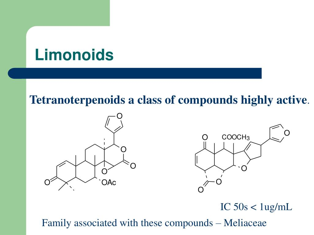 Limonoids