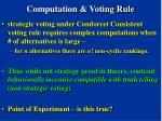 computation voting rule