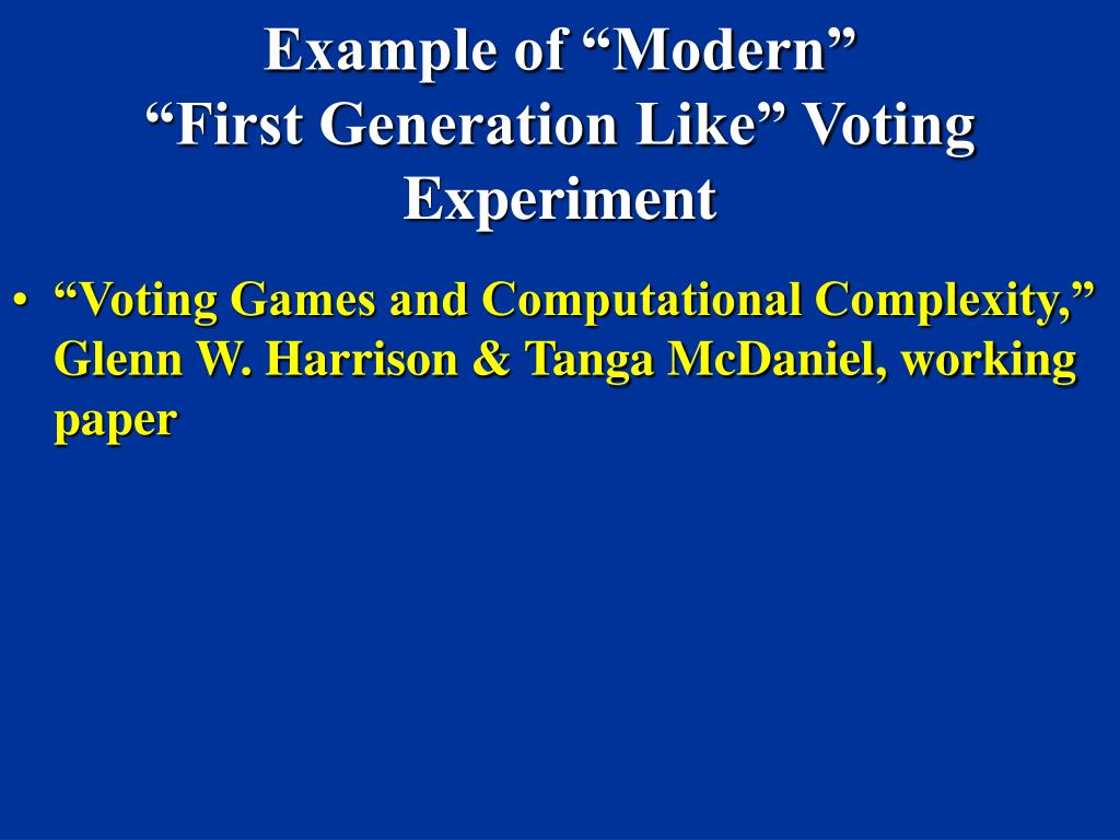 """Example of """"Modern"""""""