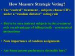 how measure strategic voting