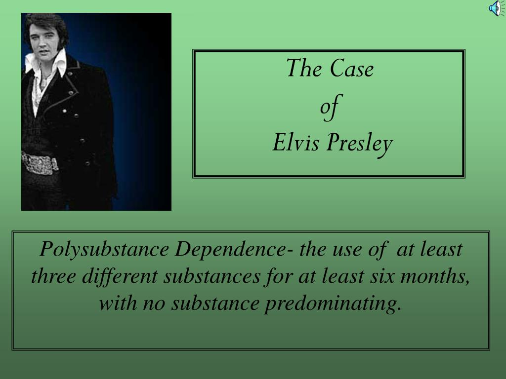 the case of elvis presley l.