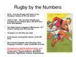 rugby by the numbers