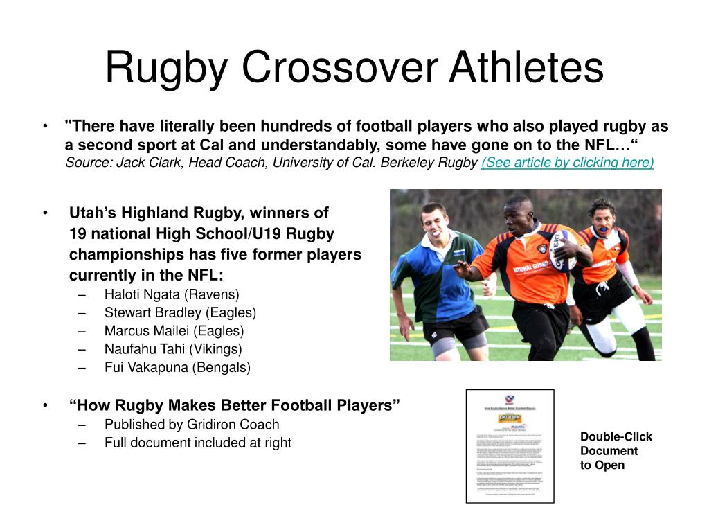 Rugby Crossover Athletes