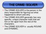 the crime solver