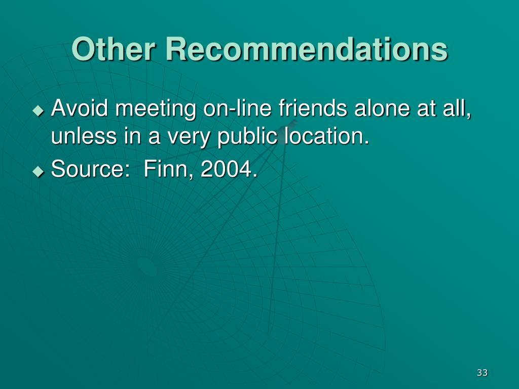 Other Recommendations