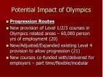 potential impact of olympics9