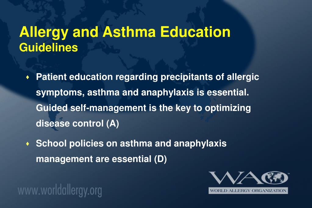 Allergy and Asthma Education