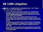 sb 1386 litigation