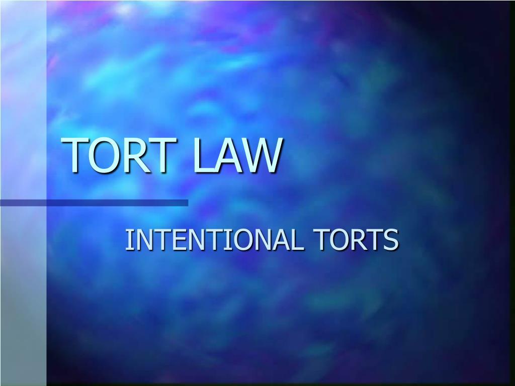 tort law l.