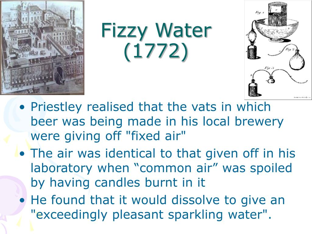 Fizzy Water                     (1772)