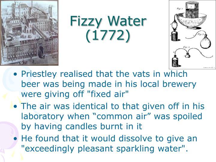 Fizzy water 1772