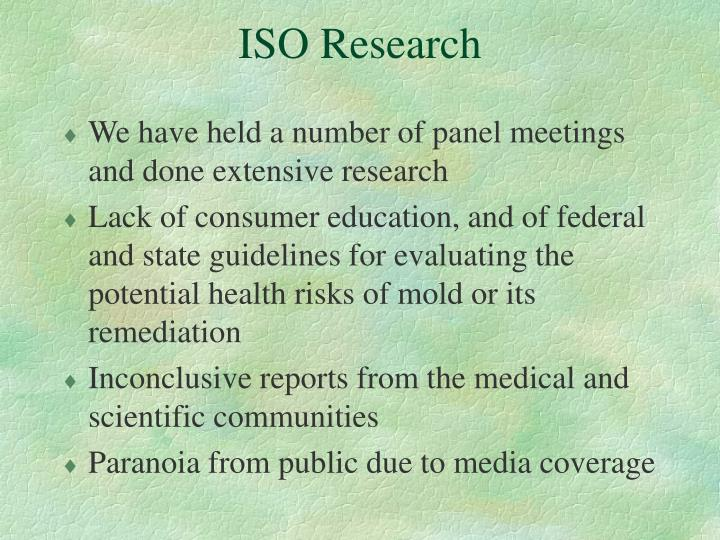 ISO Research