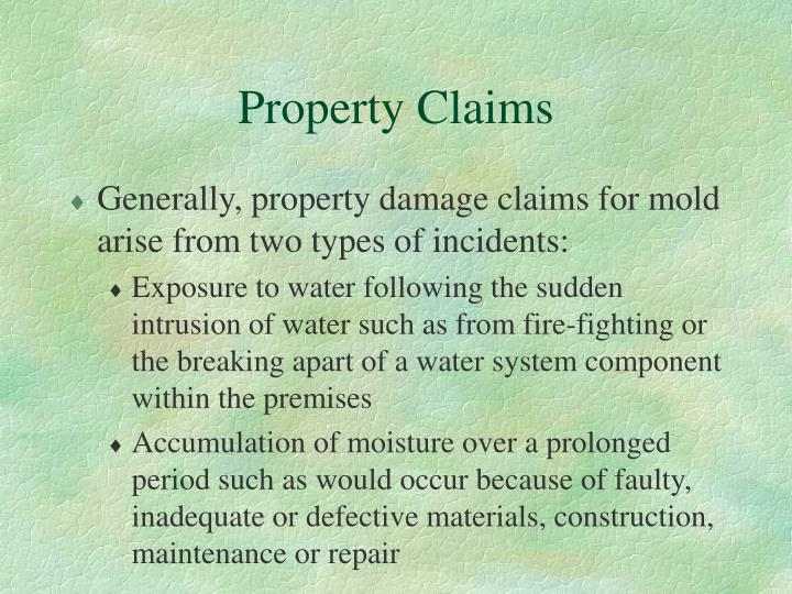 Property Claims
